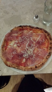 Proscuitto Pizza